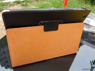 New Smart Cover Leather Pouch Case With Stand for Apple iPad 2 Black