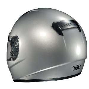 HJC CS R1 Full Face Motorcycle Helmet Dark Silver Medium