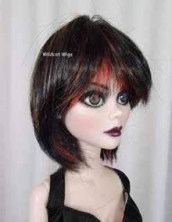 Wig for Evangeline Ghastly .. Size 6 7 .. Ally Wig   HOT ELECTRA COLOR