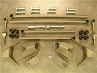 1932 FORD REAR TRIANGULATED 4 LINK FOUR BAR KIT UNIVERSAL STREET ROD