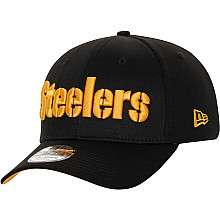 Mens New Era Pittsburgh Steelers HC Wishbone 39THIRTY® Structured