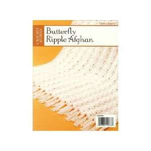 Butterfly Ripple Baby Afghan Pattern Arts, Crafts