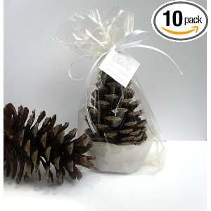 Pine Cone Wedding Favors, Holiday Party Favors Qty. 12