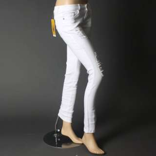 Sexy Womens Distressed Ripped Skinny Denim Pants Jeggings