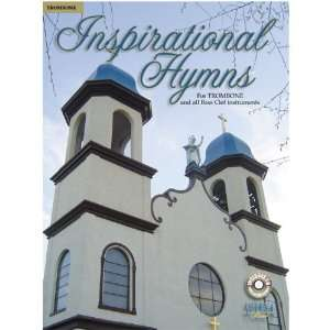 Inspirational Hymns for Trombone   Bass Clef (Book & CD