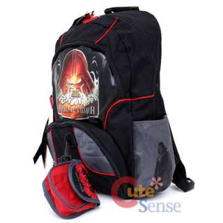 Star Wars Darth Vader School Backpack 18 Large Bag w/Detachable Pouch