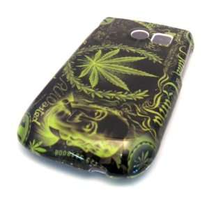 Samsung R375c Straight Talk Green Leaf Ganja Design HARD