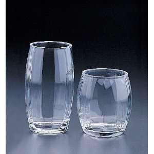 Water Glass Blowmold Stripe DOF 18.Oz (Acrylic)(Right