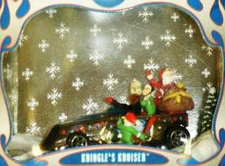 KRINGLES KRUISER HOLIDAY HOT WHEELS 2000 SET 3, Mattel