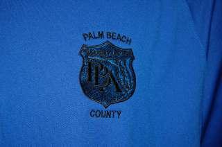 PALM BEACH COUNTY NIKE FIT DRY GOLF POLO SHIRT MENS XL