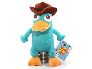 Agent P. 23 cm  Pluesch Figur  Phineas und Ferb  1000044  Perry