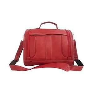 Piel Leather Deluxe Toiletry Kit Red/sand