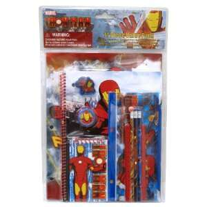 Fab Starpoint Iron Man 11 Piece School Supply Set
