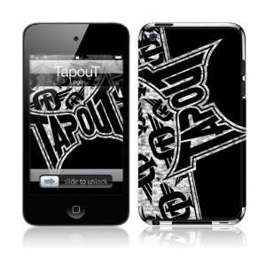iPod Touch  4th Gen  TapouT  Logo Skin: MP3 Players & Accessories
