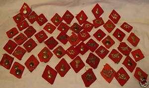 vintage 51 pc Insignia SPAIN Spanish Civil War 1930s
