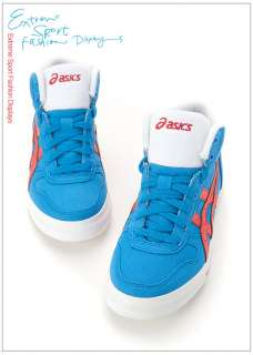 Brand New ASICS AARON MT CV Shoes Blue, Red H009N 4223 #19A