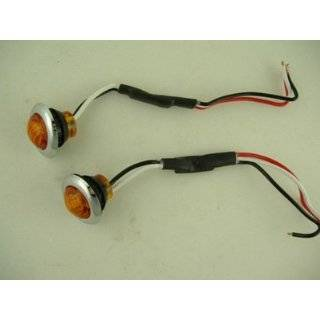 3/4 LED Combination Clearance Marker Light Amber with