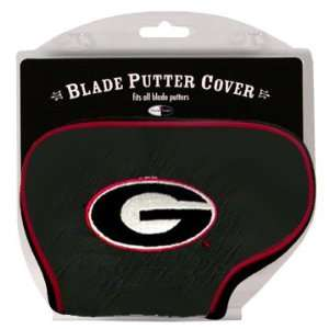 Georgia Bulldogs Blade Putter Cover Headcover: Sports & Outdoors