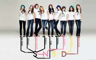 SNSD Girls Generation Laptop Netbook Skin Cover Sticker