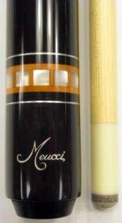 Meucci FR 1 MEF01 Pool Cue 12.75mm Black Dot Shaft   Free 2x4 Case and