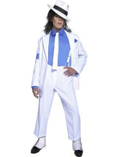 Michael Jackson Smooth Criminal Herren Popstar Karneval Kostüm
