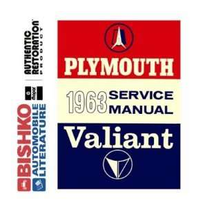 1963 PLYMOUTH BELVEDERE FURY VALIANT etc Shop Manual CD Automotive