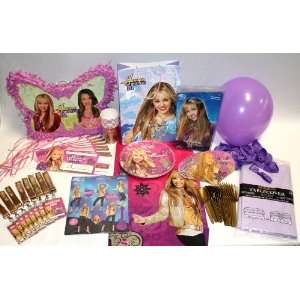 Ultimate Hannah Montana Party Kit & Pinata Toys & Games