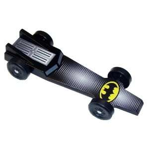 Batmobile Extreme Speed Pinewood Derby Car Kit Toys