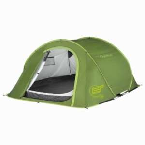 Quechua Tent Camping Pop Up 2 Seconds III,3 man green