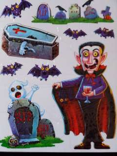 Halloween Window Cling~Vampire the Count~Haunted House
