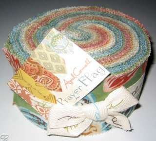 Moda April Cornell Prayer Flag Jelly Roll 40 Strips