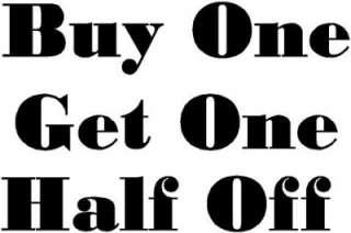 Buy One Get One Half Off Vinyl Wall Art Katazoom