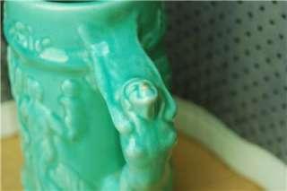 Majolica Pottery Chicago World Fair 1933 Mug Stein vtg