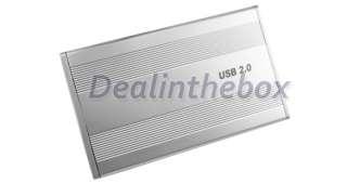 USB 2.0 IDE External HDD Hard Disk Drive Enclosure