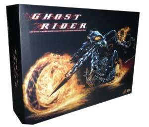 HOT TOYS GHOST RIDER WITH HELL CYCLE |