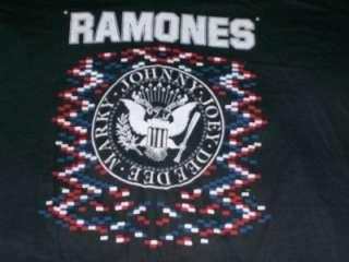 vtg RAMONES 1979 concert tour t shirt LARGE L rare soft
