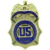DEA DRUG ENFORCEMENT SPECIAL AGENT POLICE BADGE PIN