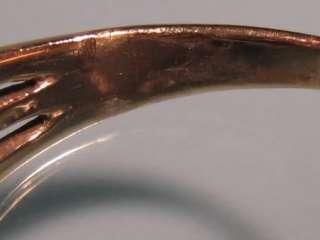 Vintage 14K Yellow Gold Oval Amethyst Diamond Ring