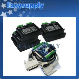 CNC Router DIY Kit 5 Axis Breakout Board +5x M542 Stepper Motor Driver