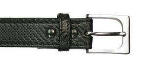 BLACKHAWK CQC Pistol Belt, Black Carbon Fiber, 1.25 Wide, Brushed