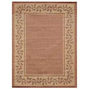 Home Textiles Sisal Vine Natural 5 Ft. x 7 Ft. Indoor/Outdoor Area Rug