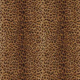 The Wallpaper Company 56 sq.ft.Black And Brown Leopard Print Wallpaper