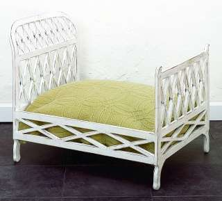 Antique White Doll Bed Pet Bed