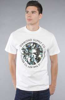 Diamond Supply Co. The Simplicity Tee in White : Karmaloop