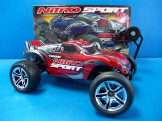 Traxxas Nitro Sport RTR R/C Truck 2WD TQ Radio FM Pro.15 Engine