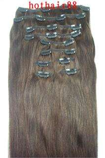 More Colors Remy10pcs180g Human Hair Clip In Extension