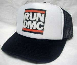 Run DMC Trucker Hat Trucker Cap Black