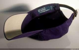 New POLO RALPH LAUREN Purple Mens BASEBALL CAP Hat Green PONY unisex