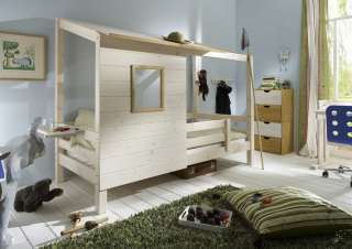 ikea bett kura spielbett halbhohes bett mit haba deko wundersch n. Black Bedroom Furniture Sets. Home Design Ideas
