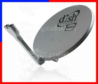 DISH NETWORK DISHNETWORK NET WORK 500 ANTENNA SATELLITE